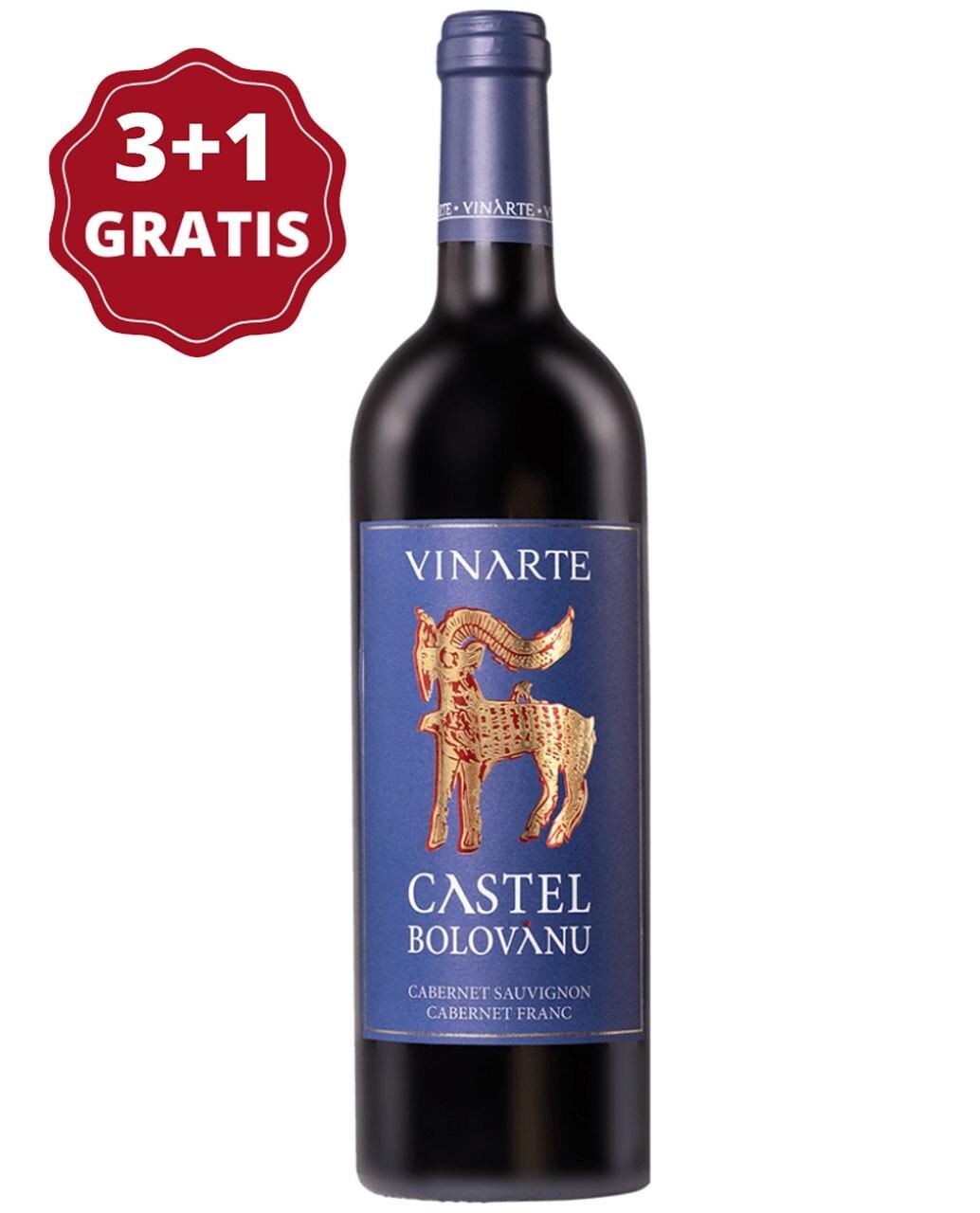 Vinarte Castel Bolovanu Cabernet Sauvignon & Cabernet Franc 3+1