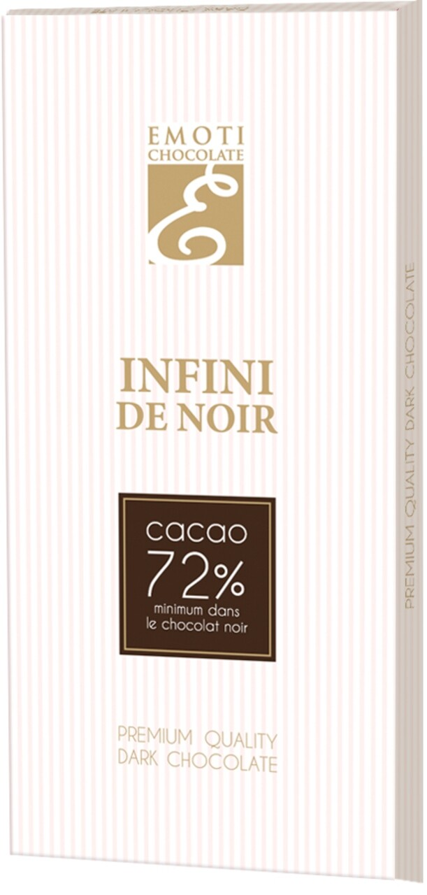 Emoti Infini De Noir 72% 100g