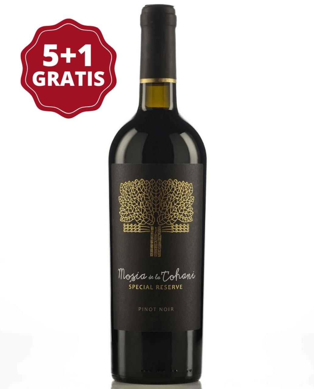 Mosia de la Tohani Special Reserve Pinot Noir 5+1