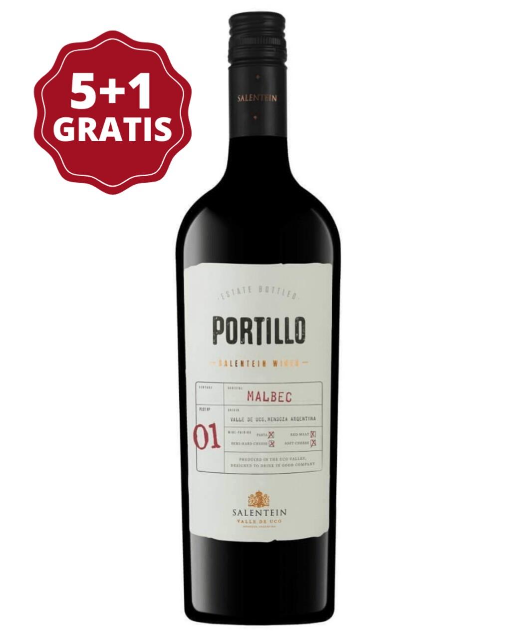 Salentein Portillo Malbec 5+1