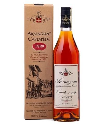 Armagnac Castarede 1989 0.5L