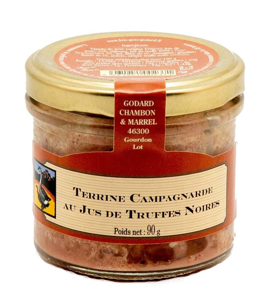 Terina taraneasca cu suc de trufe negre, Godard Chambon & Marell, 90g