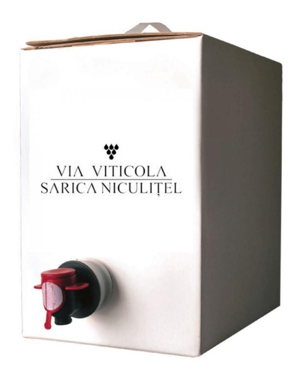 Sarica Niculitel Aligole Rosu Baricat Usor BIB 3L