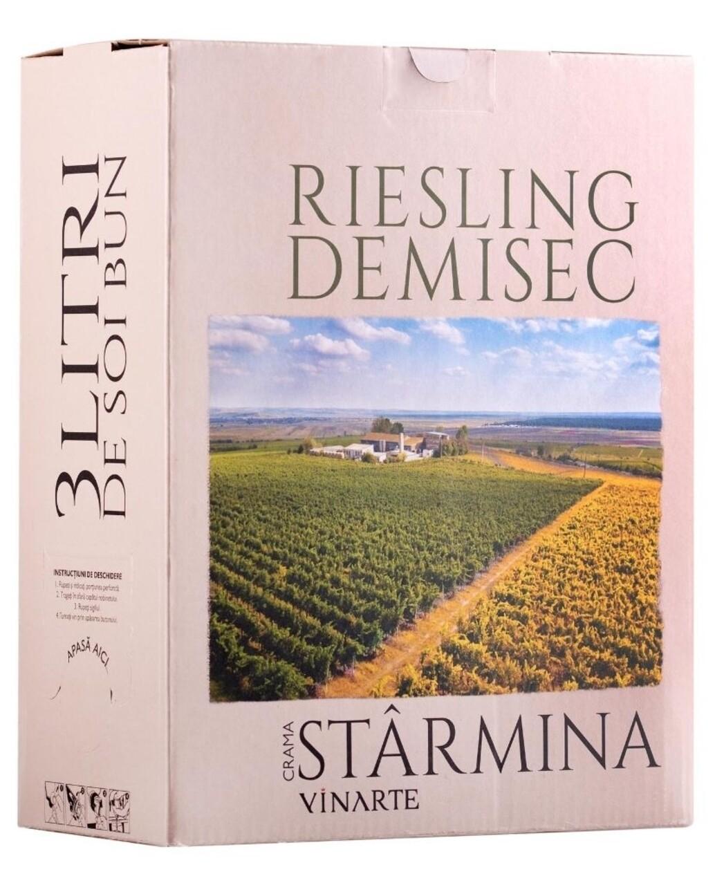 Vinarte Castel Starmina Riesling BIB 3L