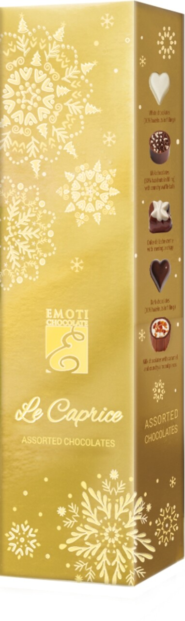 Emoti Le Caprice (Assorted Chocolates) Xmas 65g