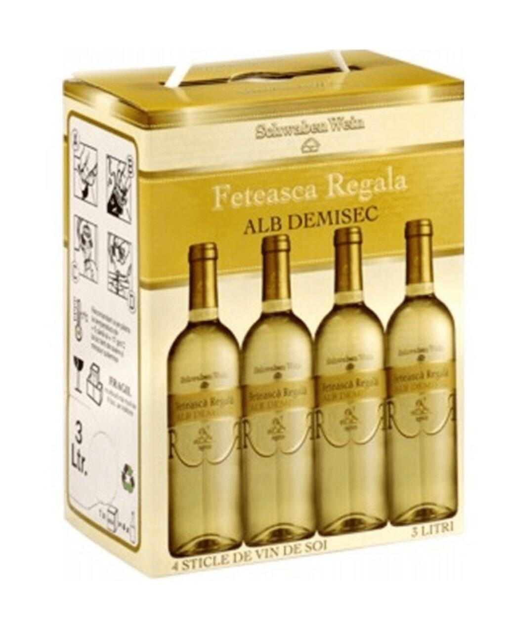Recas Schwaben Wein Feteasca Regala BIB 3L