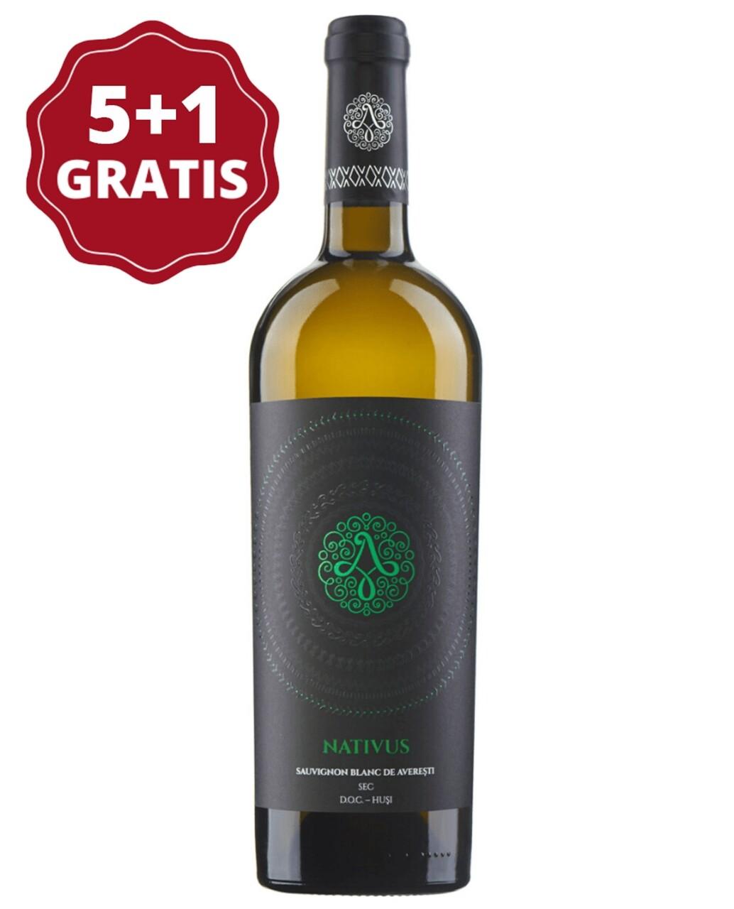 Sauvignon Blanc de Averesti Nativus 5+1