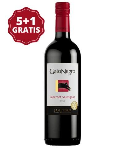 San Pedro Gato Negro Cabernet Sauvignon 5+1