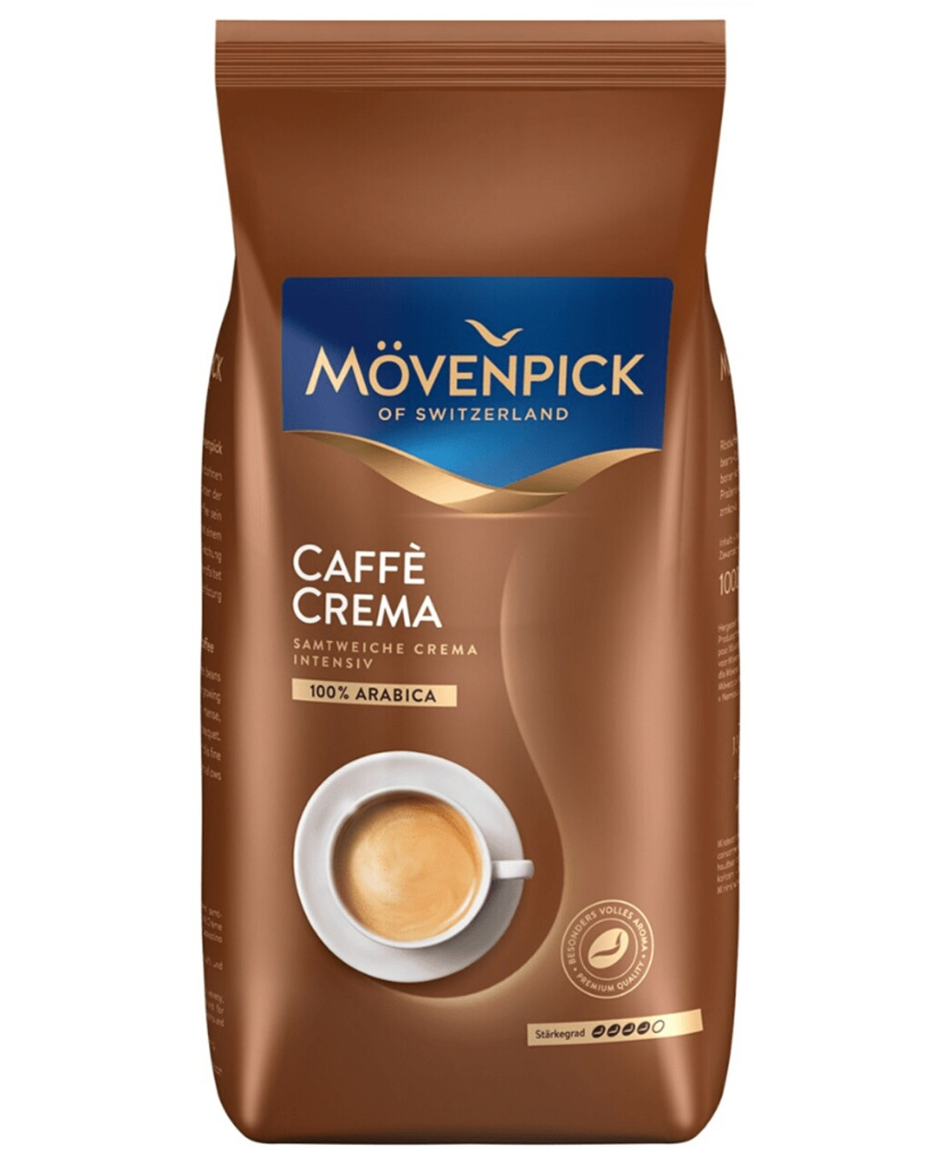 Cafea Boabe Movenpick Caffe Crema 1000g