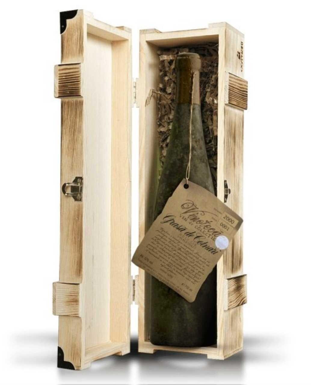 Cotnari Vinoteca 2000 Cutie Lemn Grasa De Cotnari