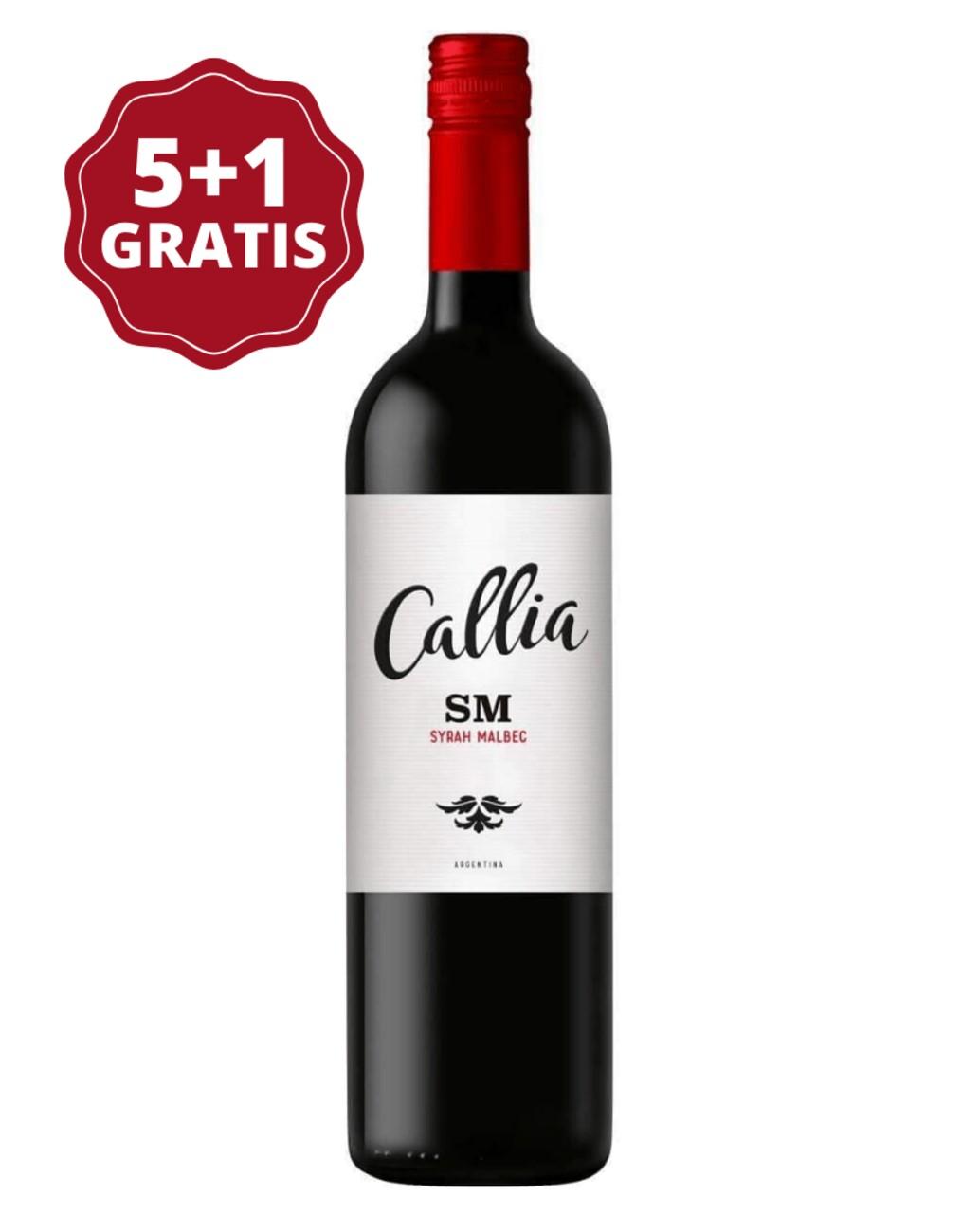 Callia Alta Shiraz - Malbec 5+1