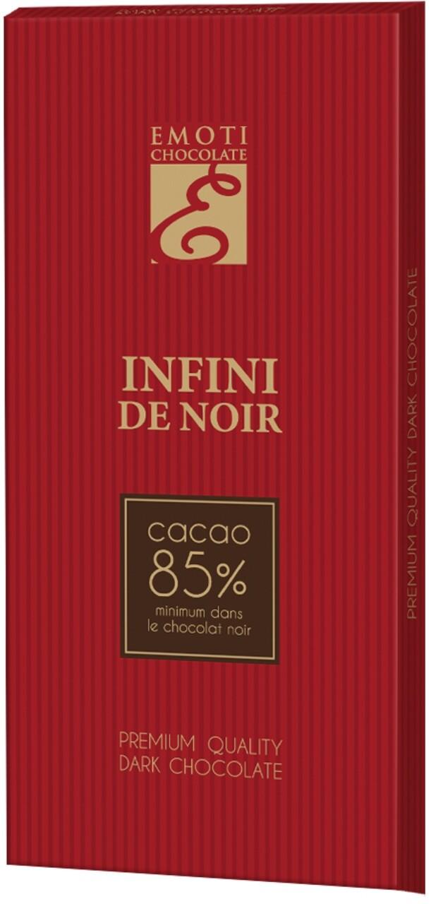 Emoti Infini De Noir 85% 100g