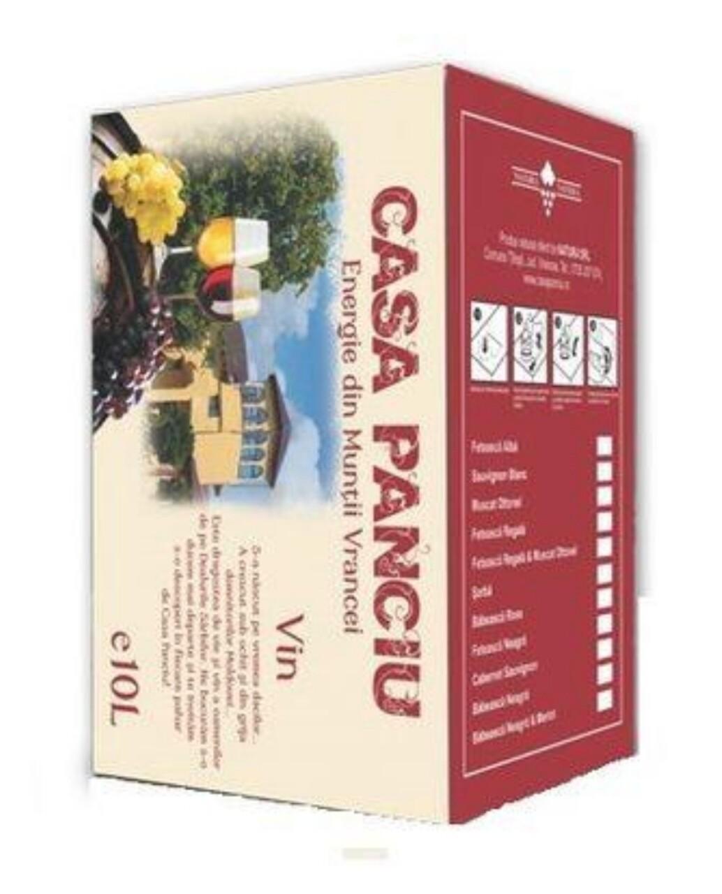 Casa Panciu Chardonnay Sec BIB 10L
