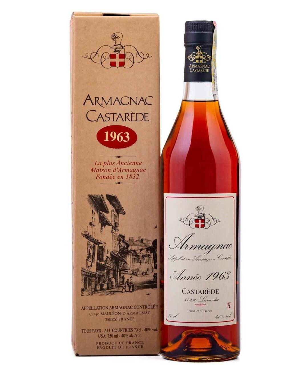 Armagnac Castarede 1963
