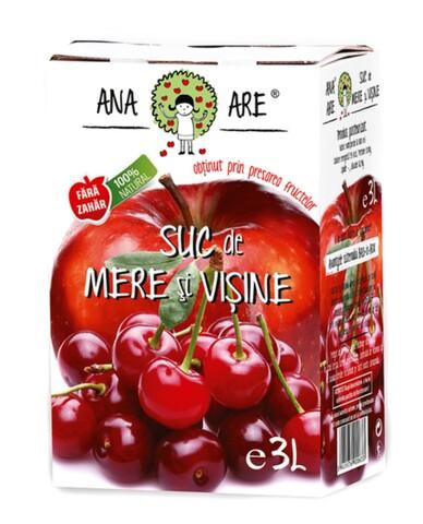 Suc de Mere & Visine 100% Natural Ana Are 3L