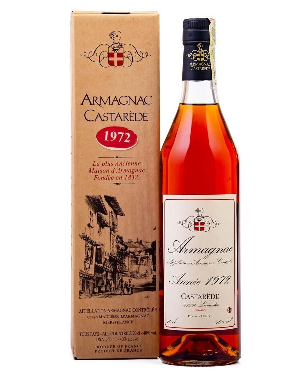 Armagnac Castarede 1972 0.5L