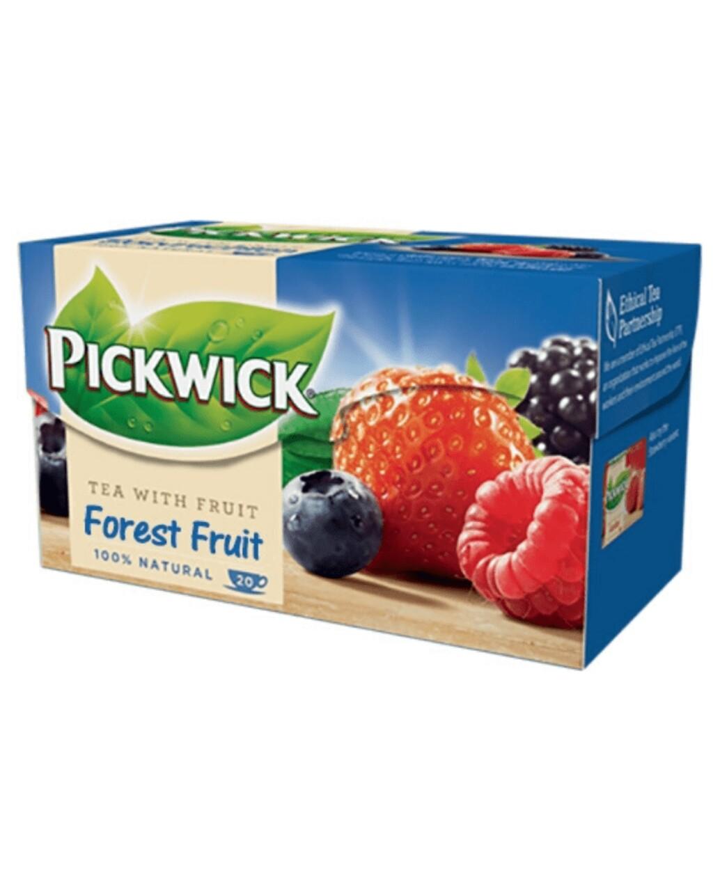 Ceai Pickwick Fruit Negru Cu Fructe De Padure 20 X 1.5g
