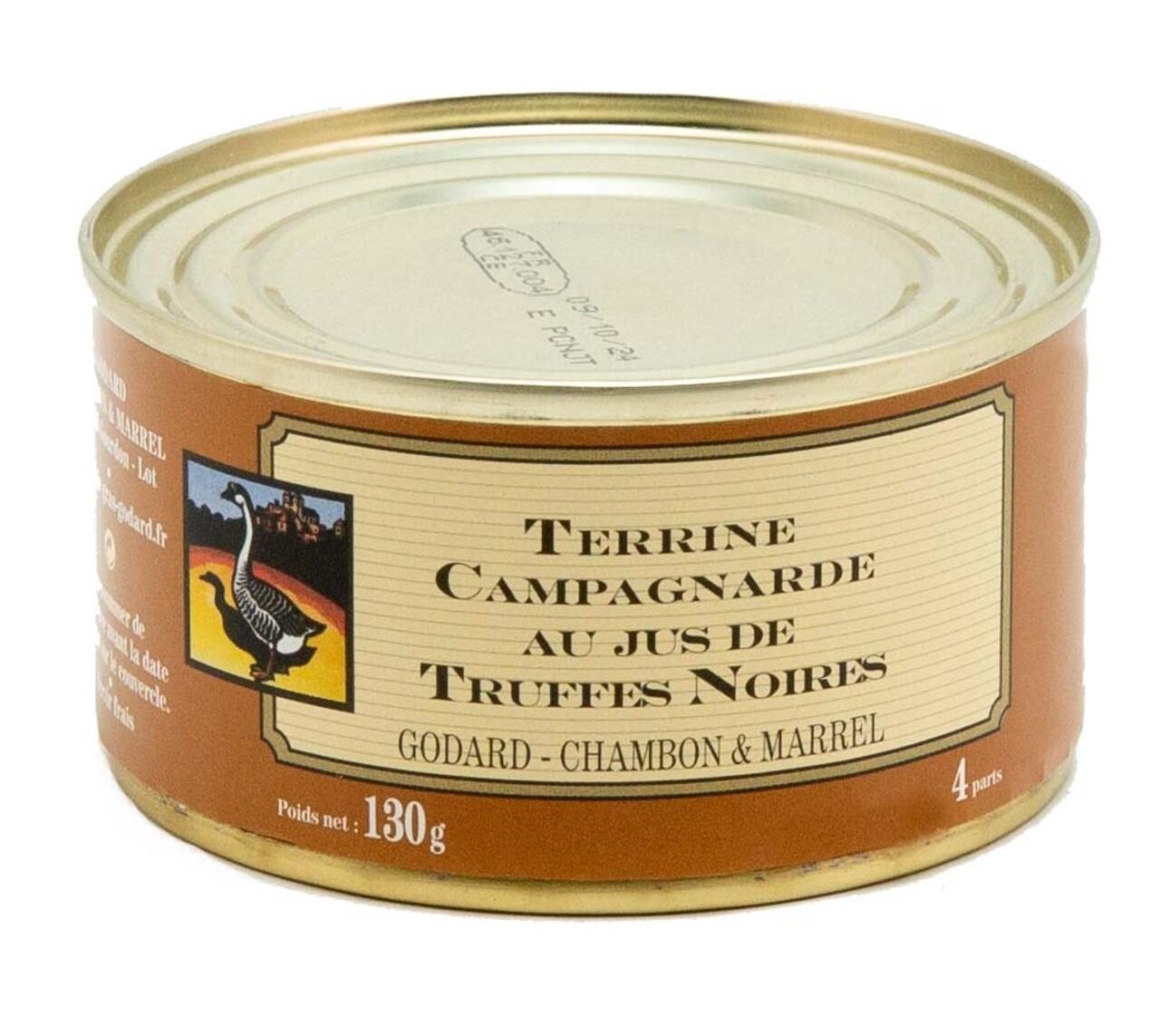Terina taraneasca cu suc de trufe negre, Godard Chambon & Marell, 130g