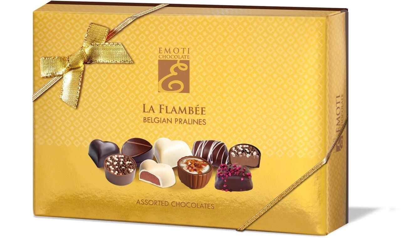 Emoti La Flambee (Assorted Chocolates) 120g