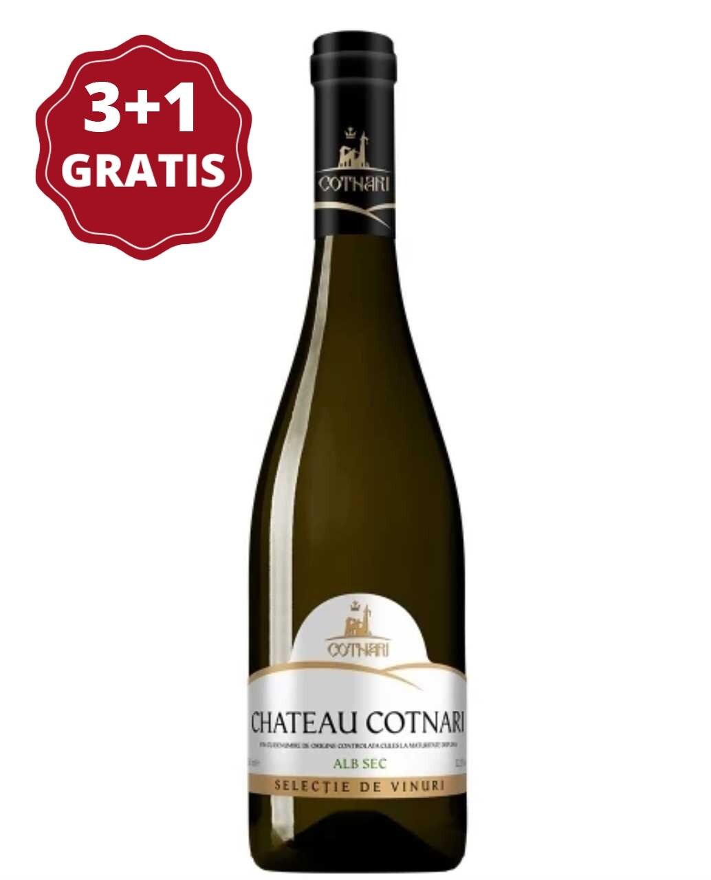 Cotnari Selectie Chateau Cotnari Alb 3+1