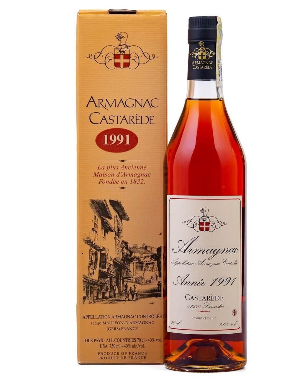 Armagnac Castarede 1991