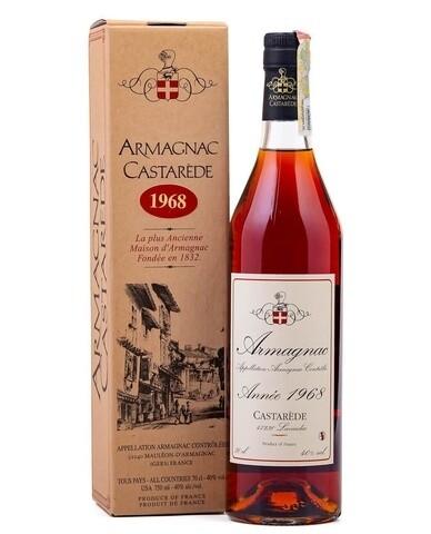 Armagnac Castarede 1968 0.5L