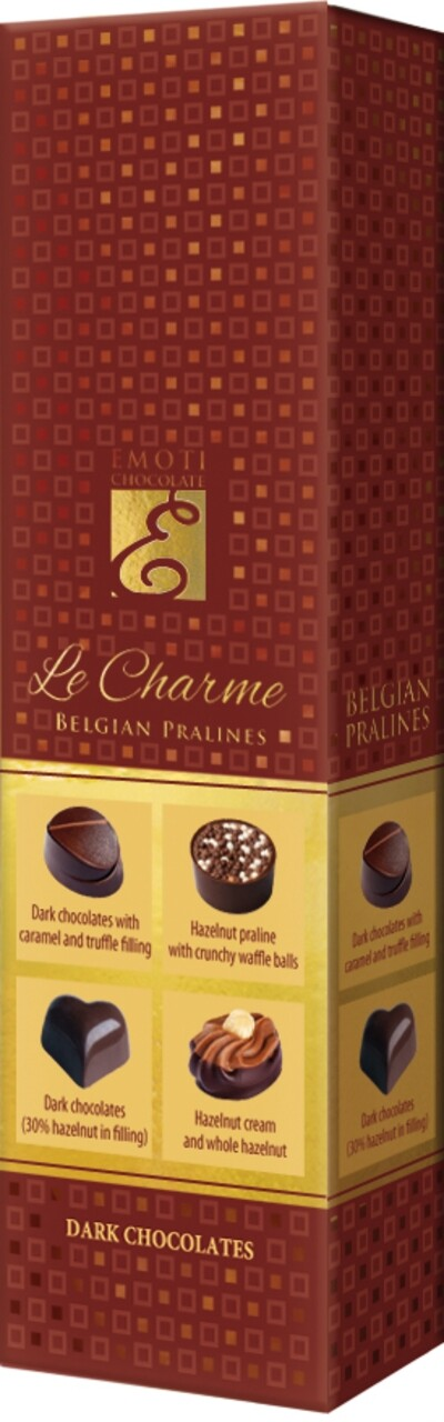 Emoti Le Charme (Dark Chocolates) 65g