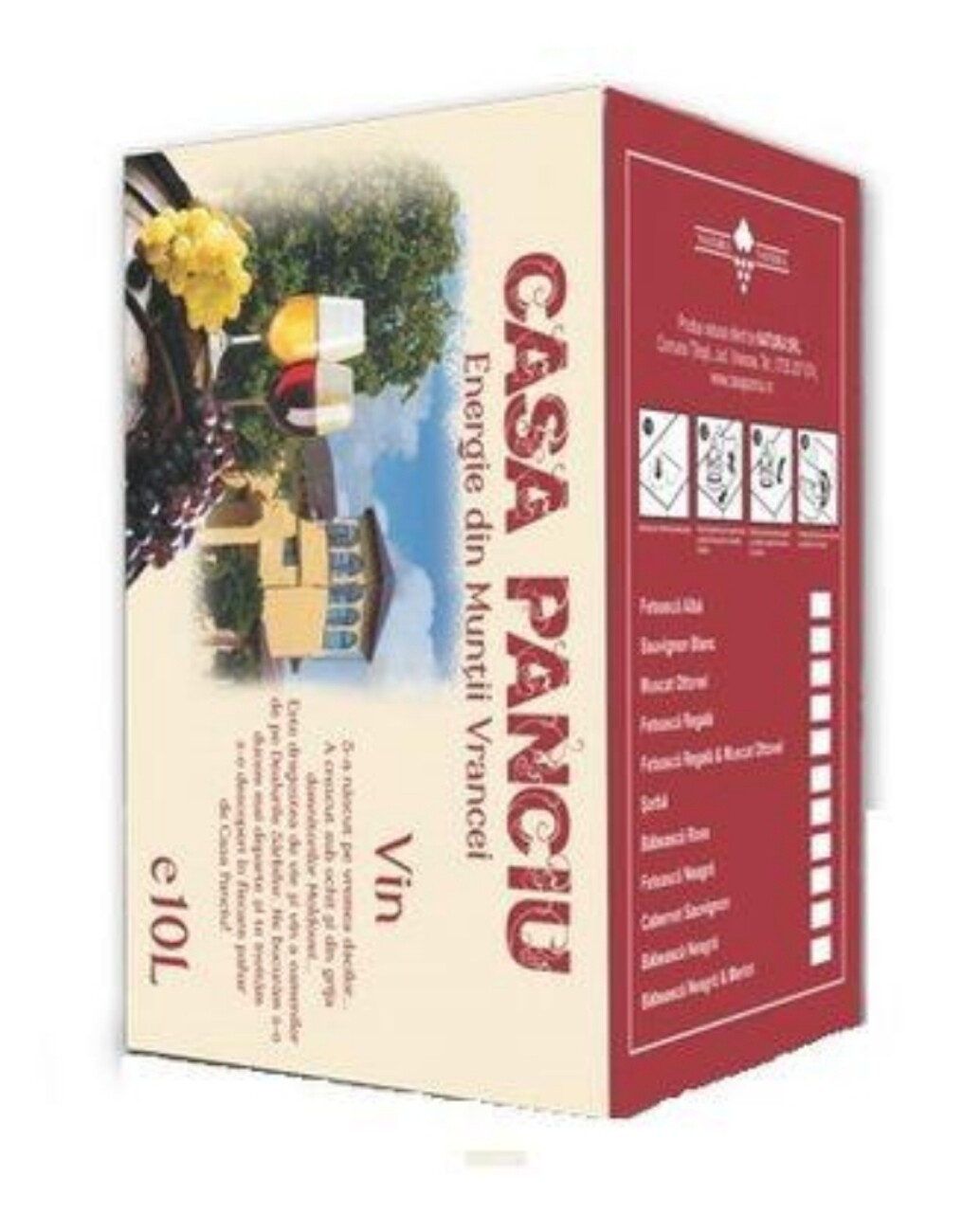 Casa Panciu Sauvignon Blanc Demisec BIB 10L