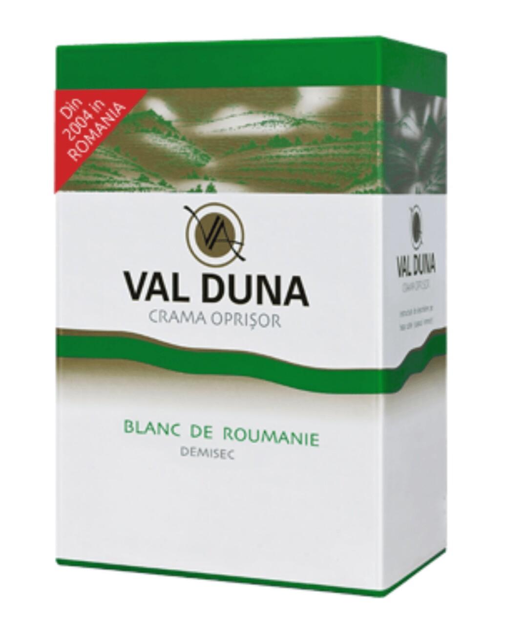 Oprisor Val Duna Blanc de Roumanie BIB 5L