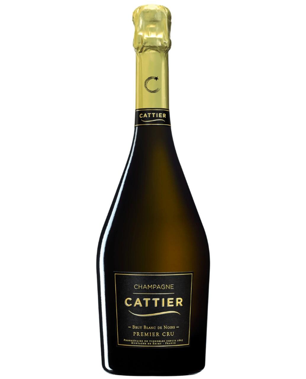 Sampanie Cattier Brut Blanc De Noirs Premier CRU