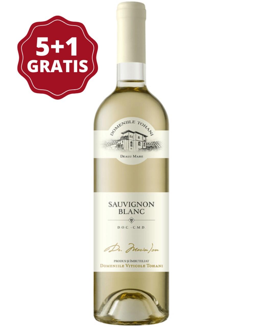 Domeniile Tohani Sauvignon Blanc 5+1