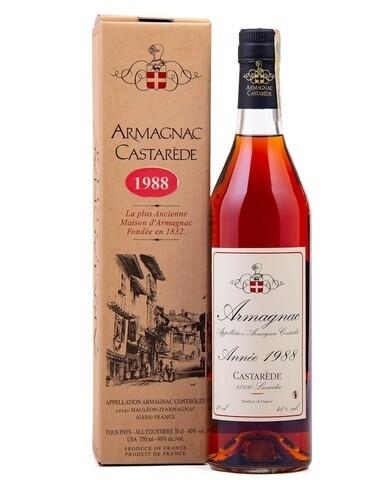Armagnac Castarede 1988 0.5L