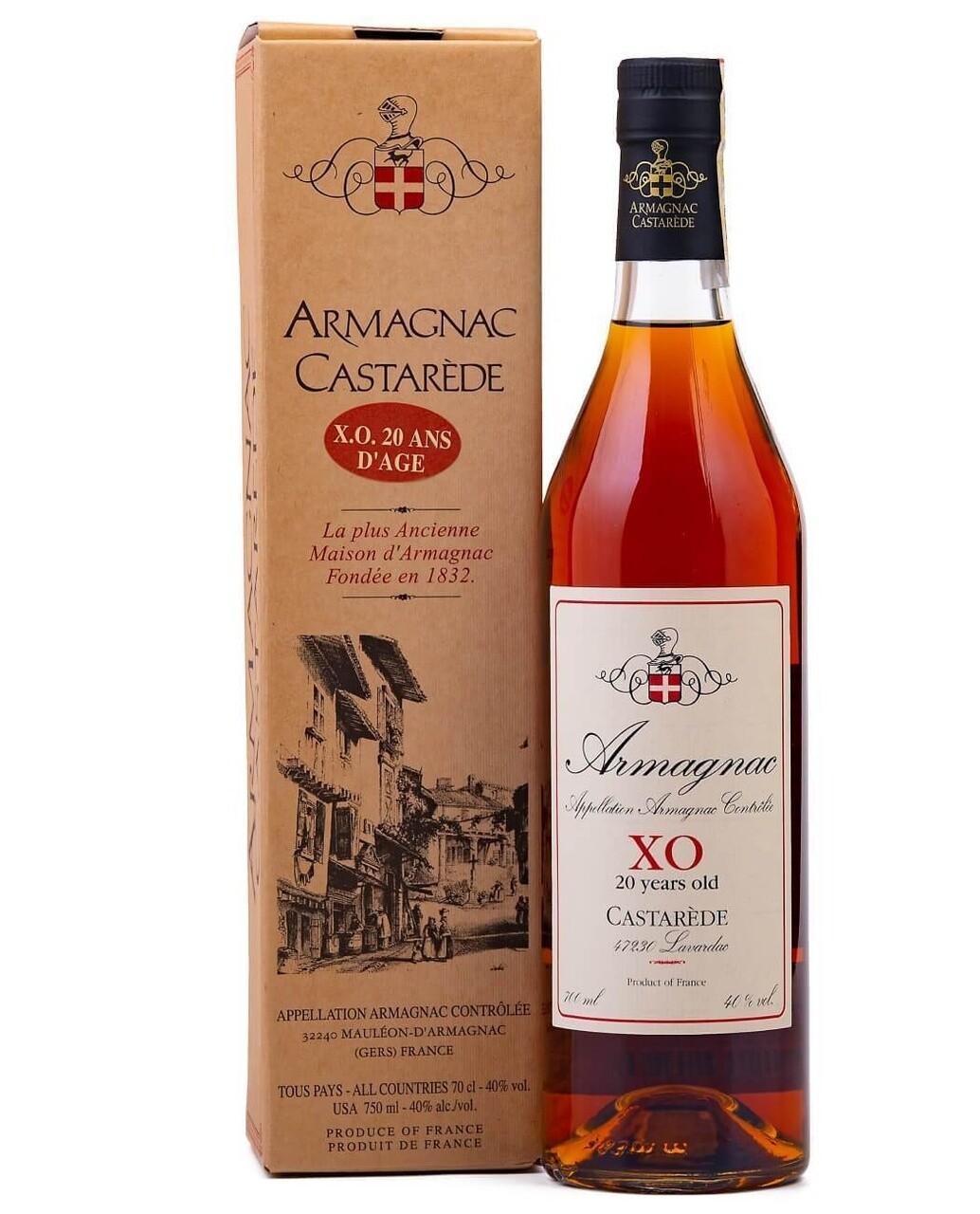 Armagnac Castarede XO  20 Ani 0.7L