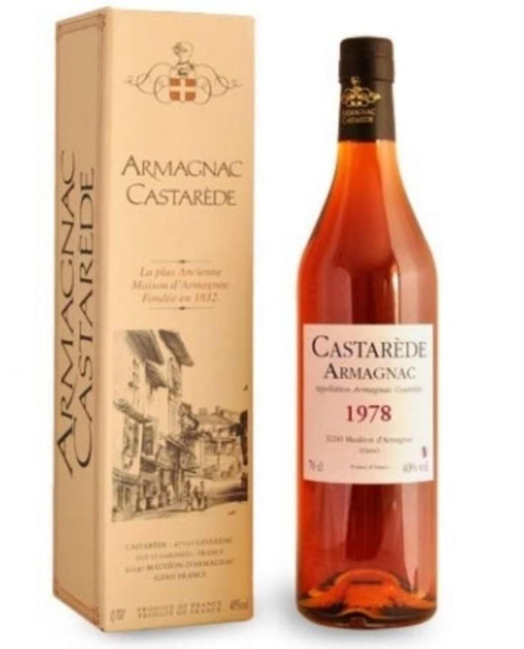 ARMAGNAC CASTAREDE 1978