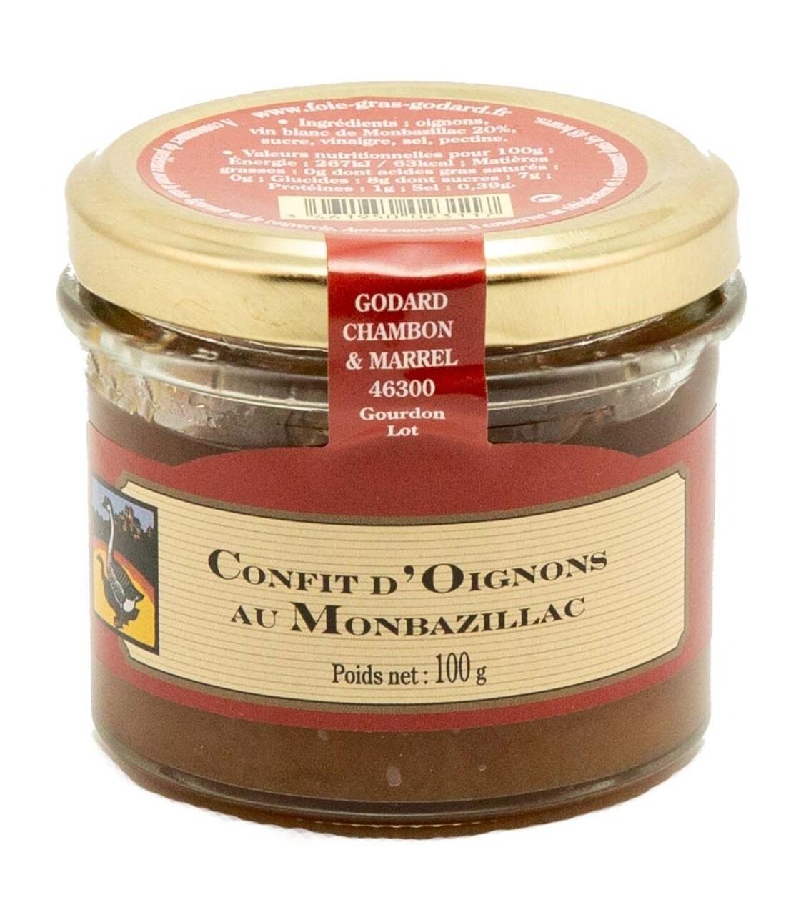 Confit de ceapa cu Monbazillac, Godard Chambon & Marell, Franta 100g