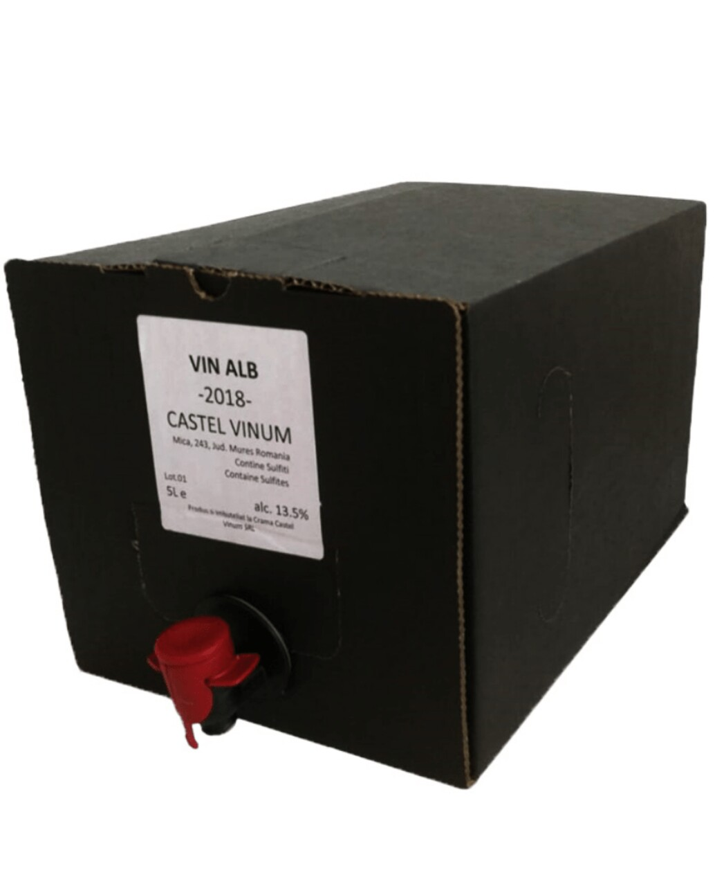 Villa Vinea Castel Vinum Alb BIB 5L
