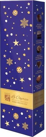 Emoti Le Caprice (Dark Chocolates) Xmas 65g