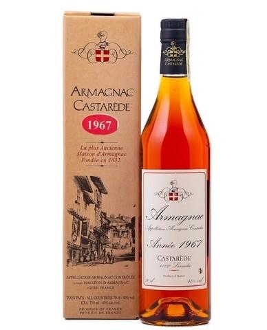 Armagnac Castarede 1967 0.5L