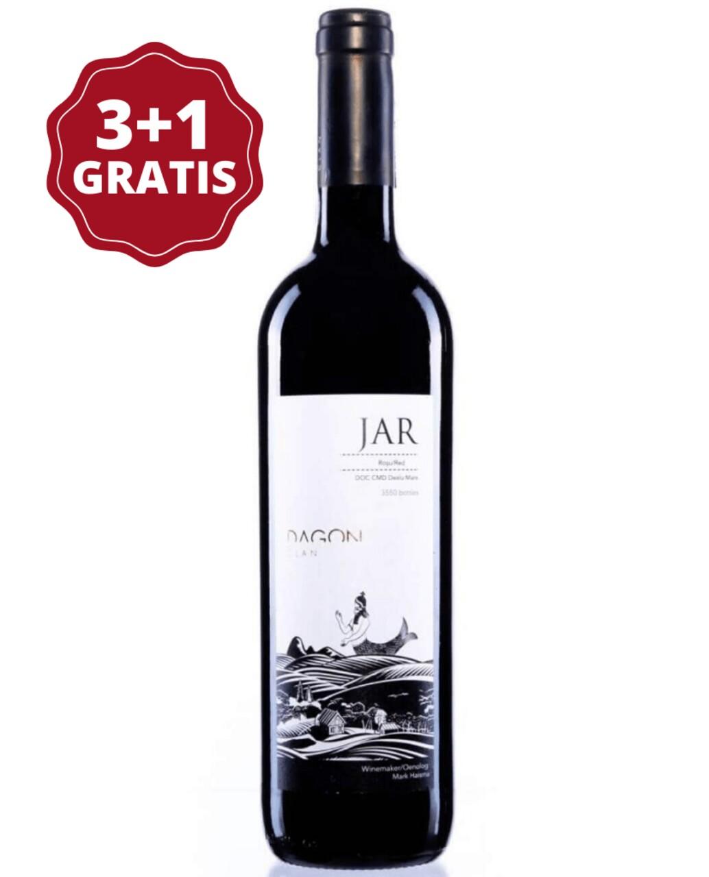 Dagon Clan Jar Rosu 3+1