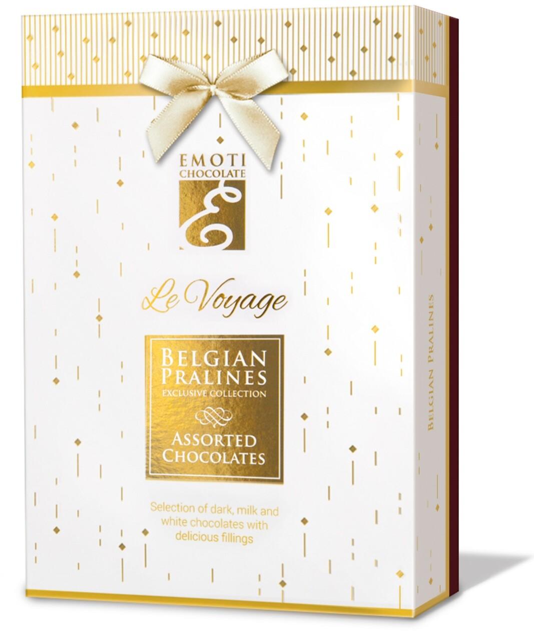 Emoti Le Voyage (Assorted Chocolates) cu Funda 120g