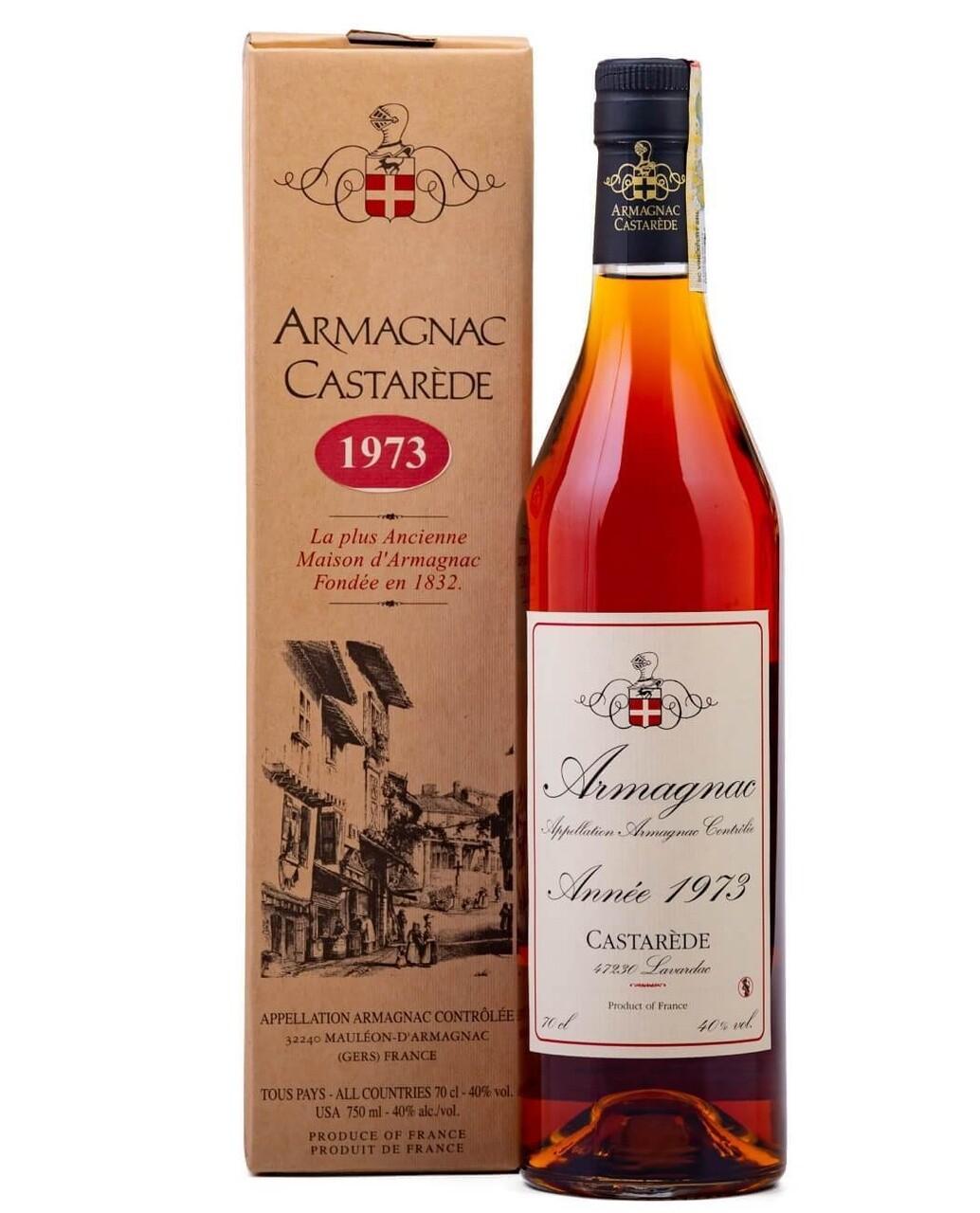 Armagnac Castarede 1973 0.5L