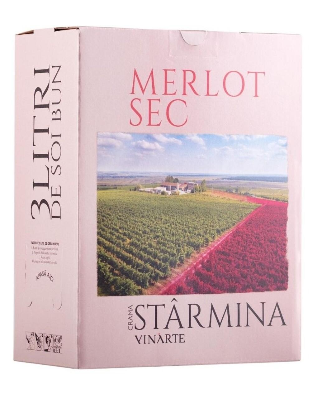 Vinarte Castel Starmina Merlot BIB 3L