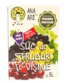 Suc de Struguri & Visine 100% Natural Ana Are 3L