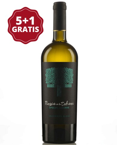Mosia de la Tohani Special Reserve Sauvignon Blanc 5+1