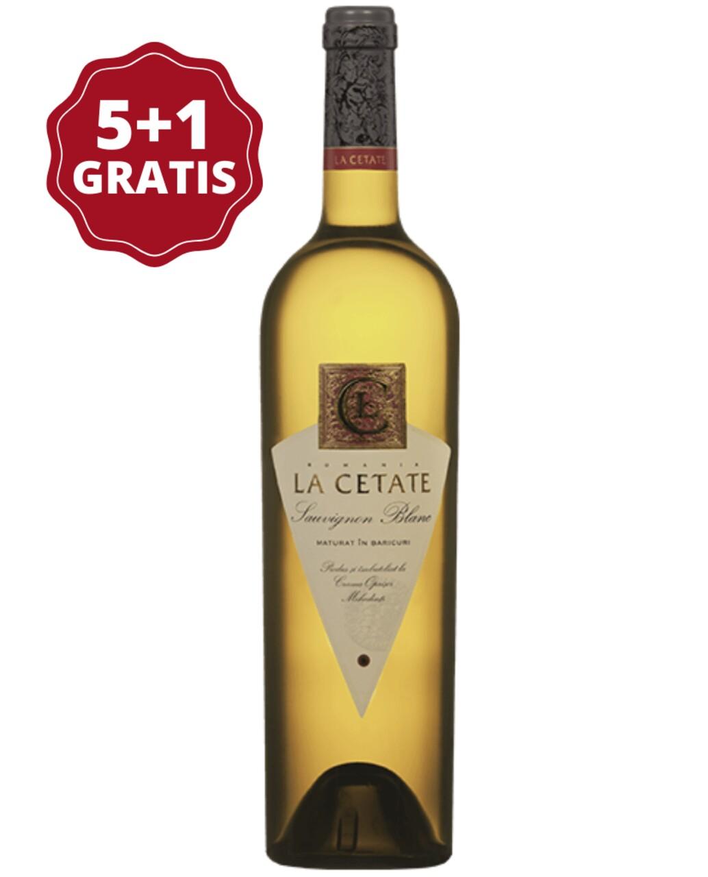 Oprisor La Cetate Sauvignon Blanc 5+1