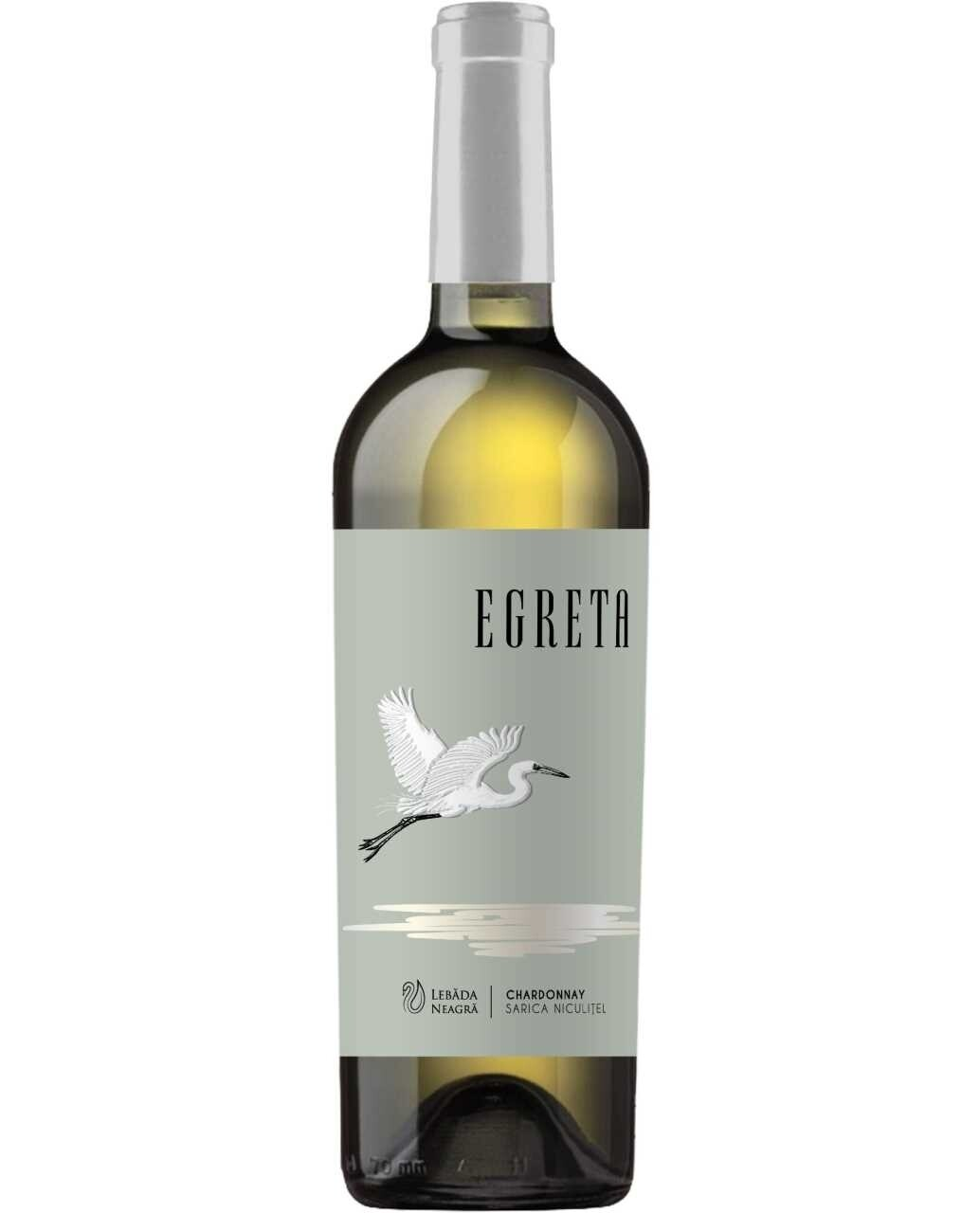 Lebada Neagra Egreta Chardonnay Demisec