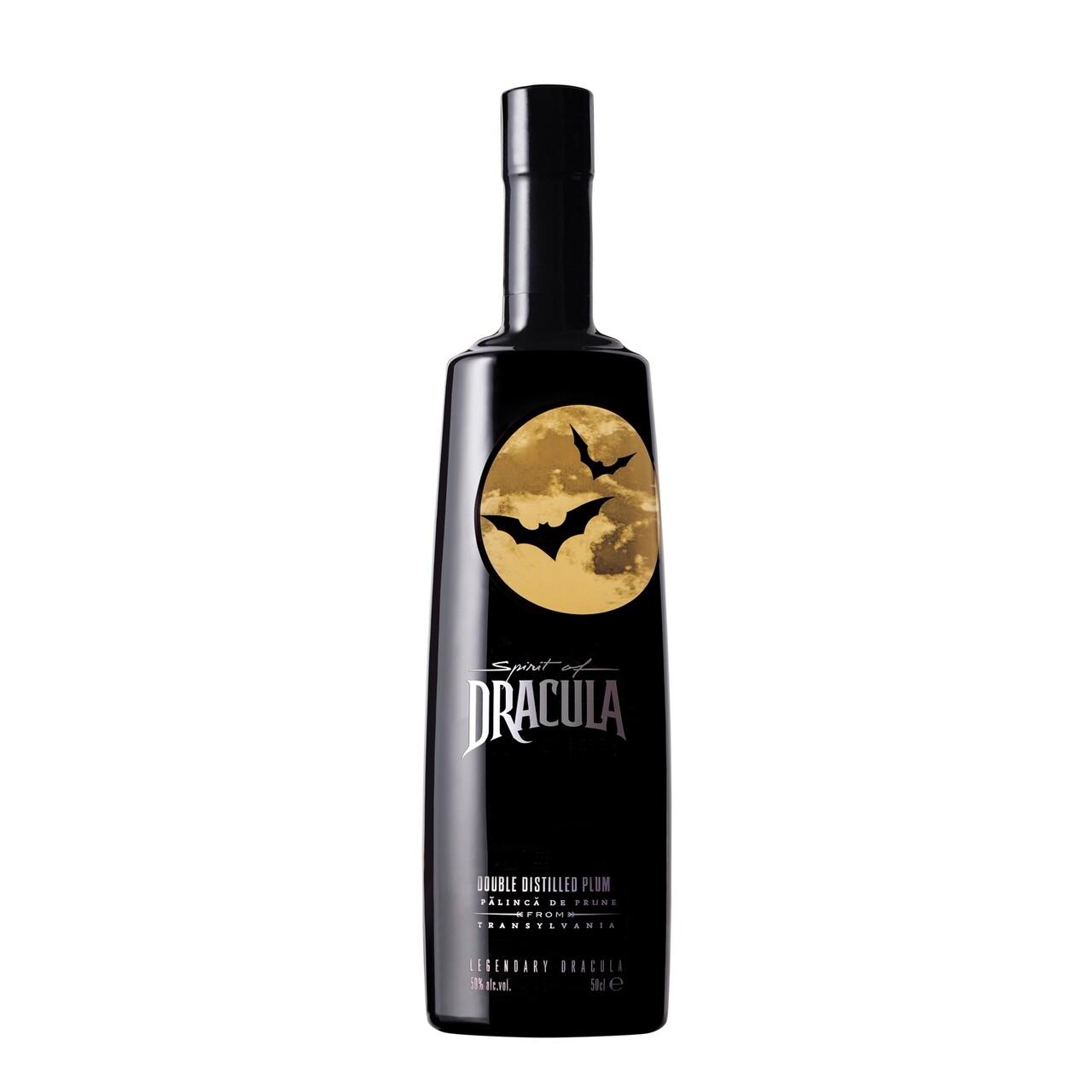 Spirit of Dracula Palinca de Prune 0.5L