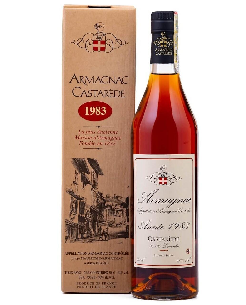 Armagnac Castarede 1983 0.5L