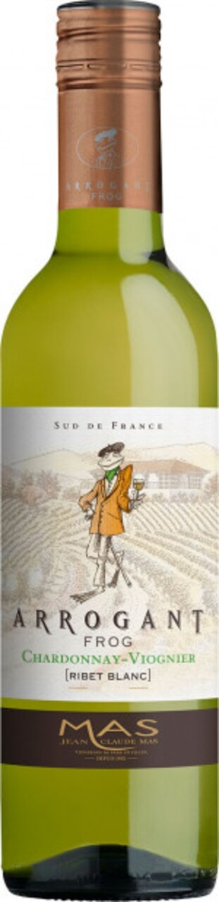 Paul Mas Arrogant Frog Ribet Blanc Chardonnay Viognier 0.375l