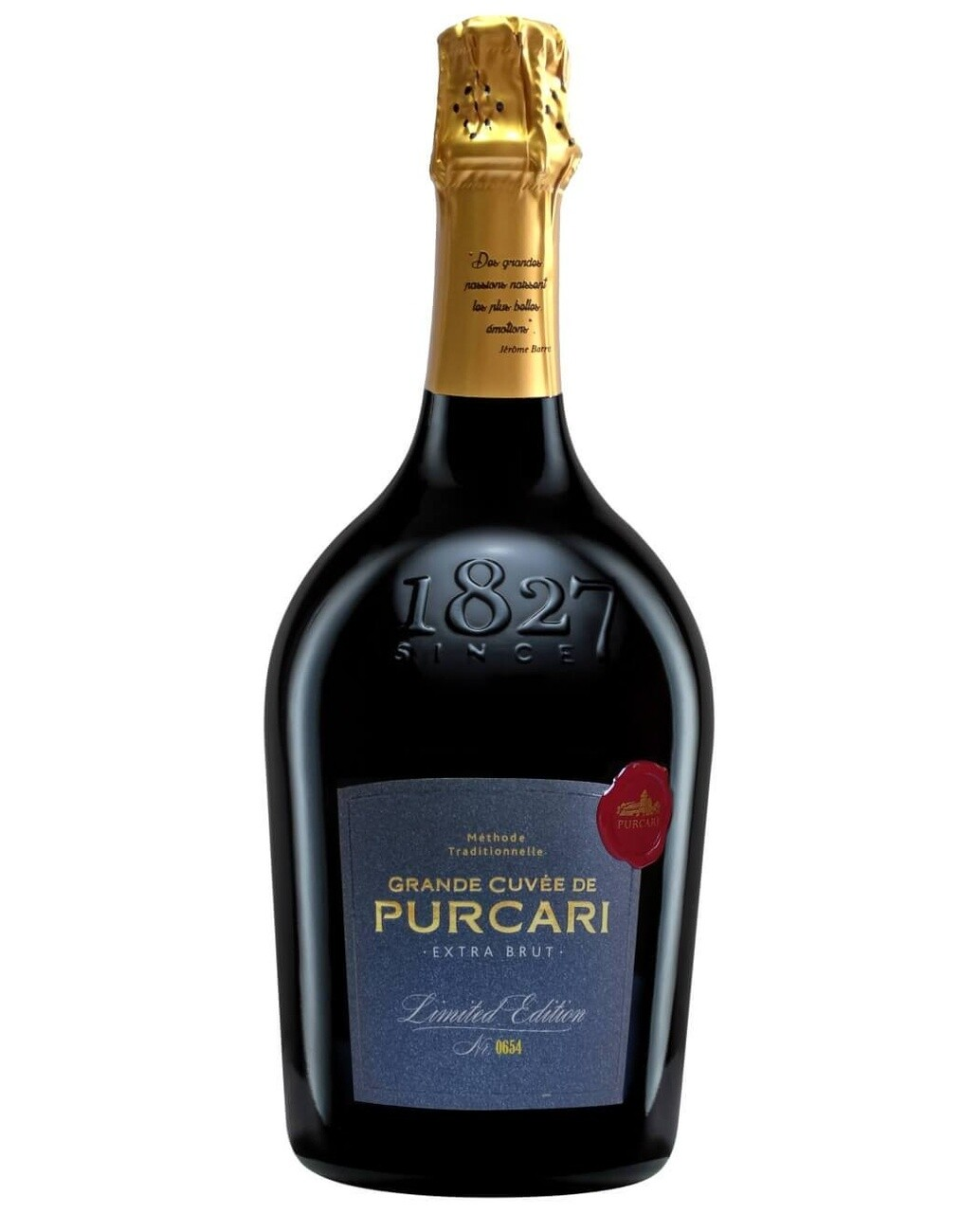 Spumant Purcari Grande Cuvee Vintage Extra Brut